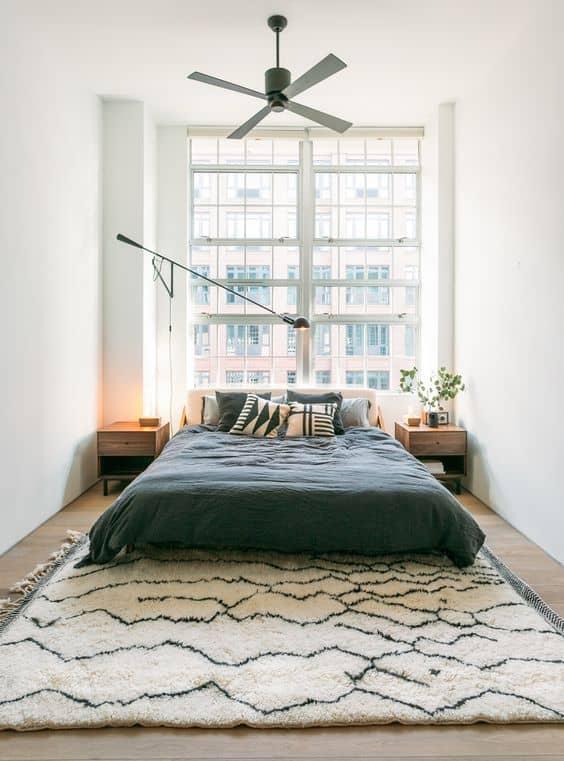 minimalist attic