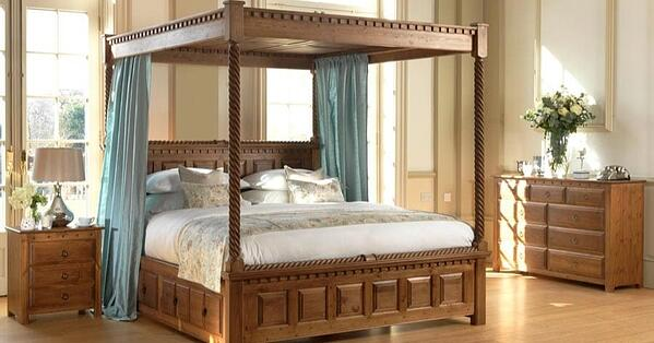 bedroom trends 2020 four poster beds