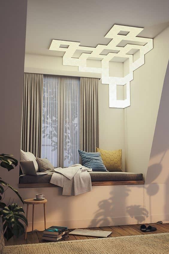 light in bedroom