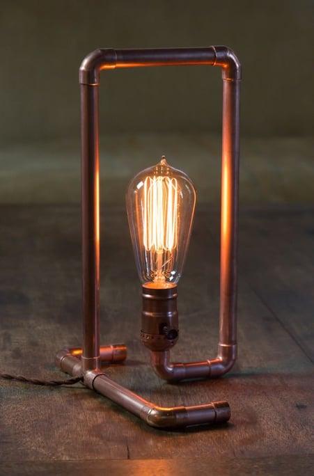 man cave edison bulb lamp
