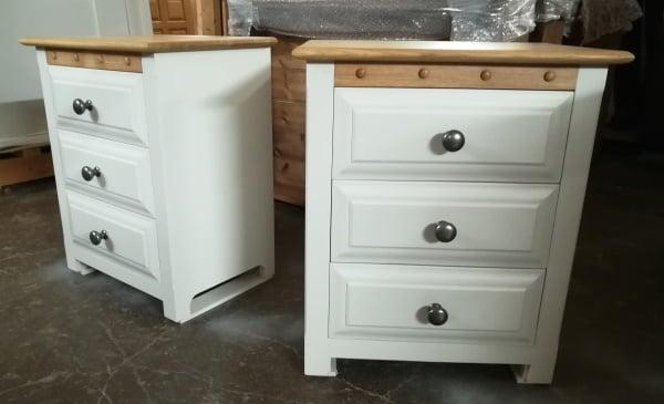 Bespoke 3 Drawer Bedside Cabinets