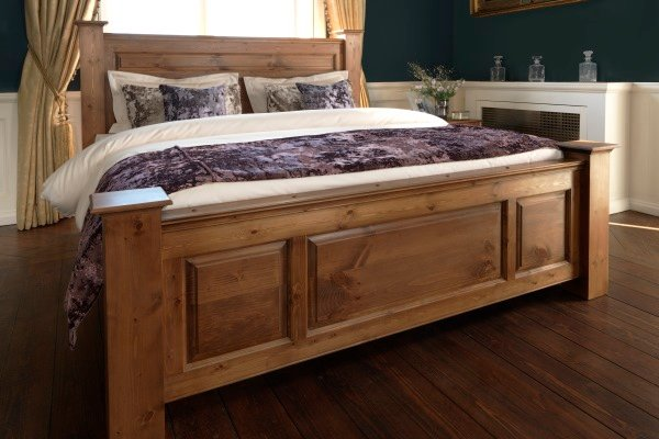 Big Wooden Bed