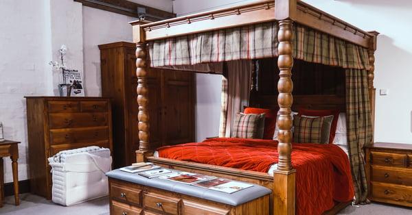 custom-made bedding for custom-made bed