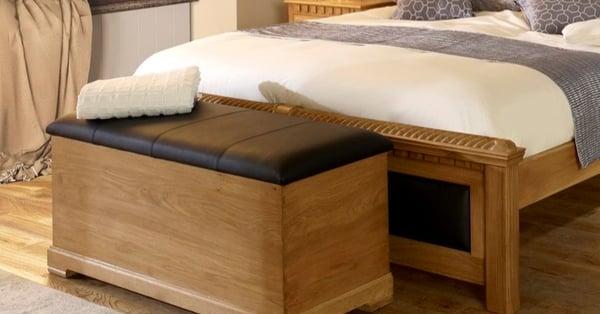 Wooden-Ottoman