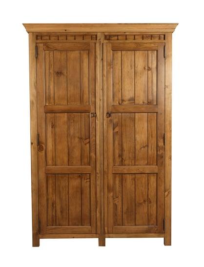New England 2 Door Wooden Wardrobe