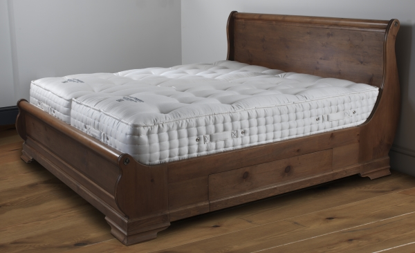 Henry Smeaton Mattress on Wooden Sleigh Bed