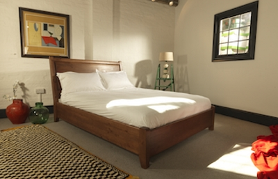 Contemporary Solid Wooden Bed