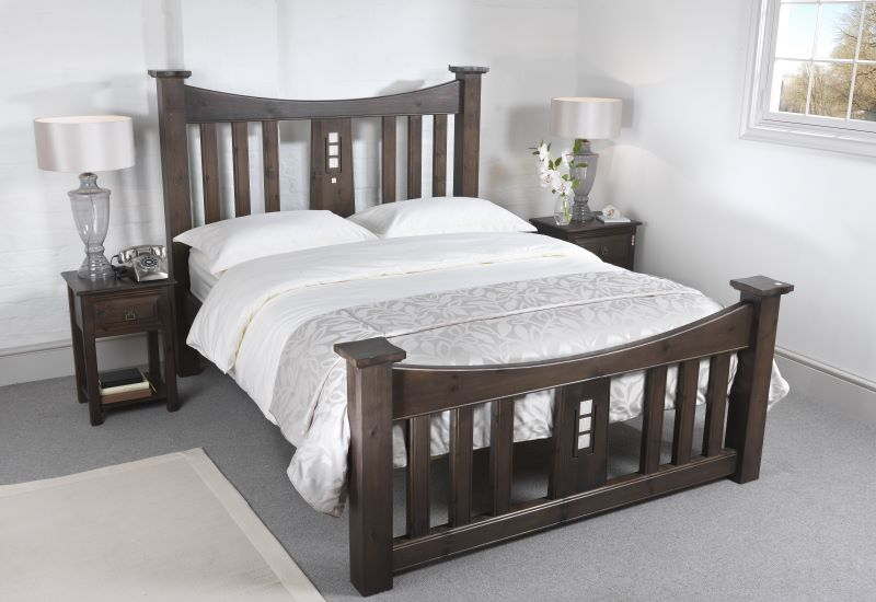 Solid Wood Mackintosh Bed