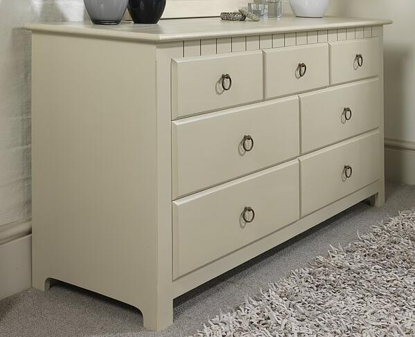 7 Drawer Painted Chest