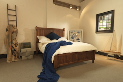 Shaker Style Wooden Bed