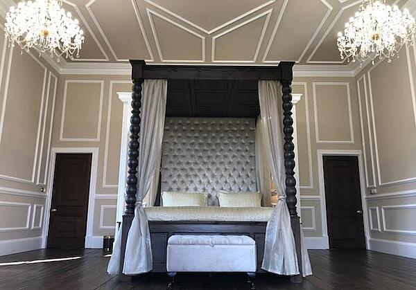 Bespoke Solid Wood Four Poster Bed