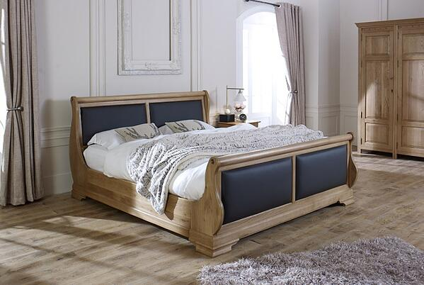 Tuscany Sleigh Bed 1