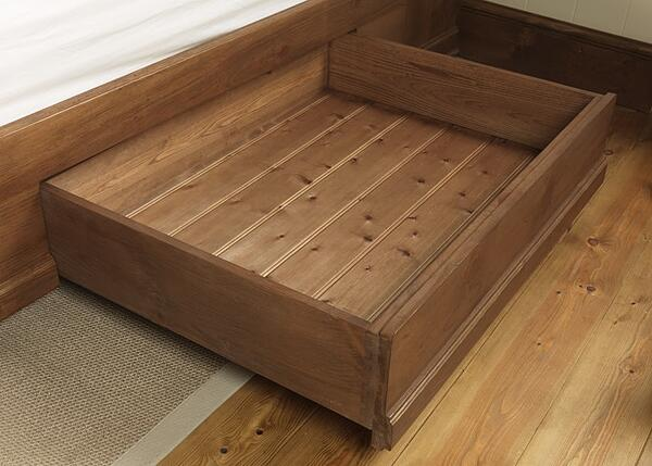 Solid Wood Underbed Storage Drawer