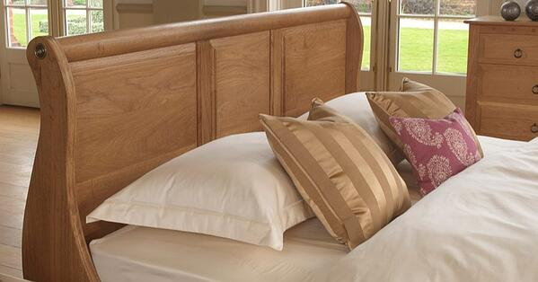 Monaco-Sleigh-Bed-Headboard-in-Solid-Oak