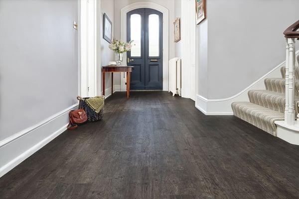 vinyl flooring in hallway