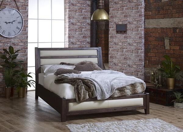 Studio-Bed-Frame-in-Cream-Leather