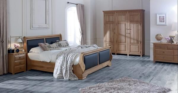 Tuscany sustainable revival bed collection