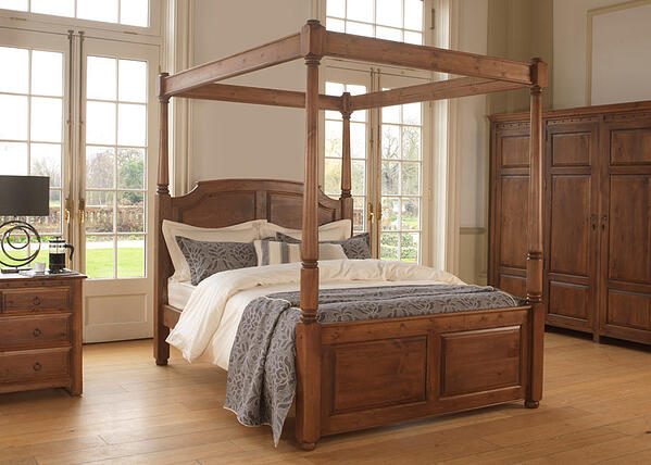 Windsor Handcrafted Four Poster Bed