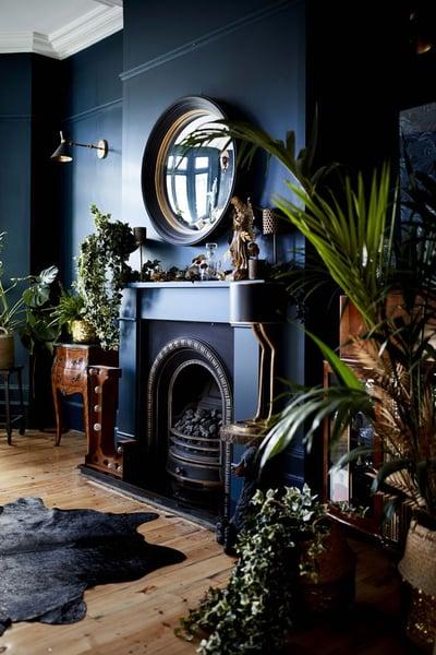 enhancing features of elegant living room