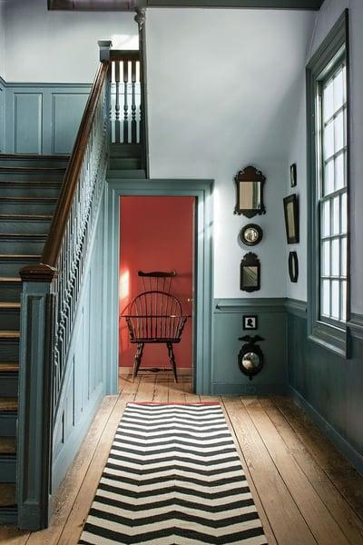 hallway colour theme