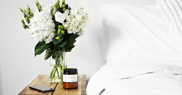 natural bedroom for 2020 trends