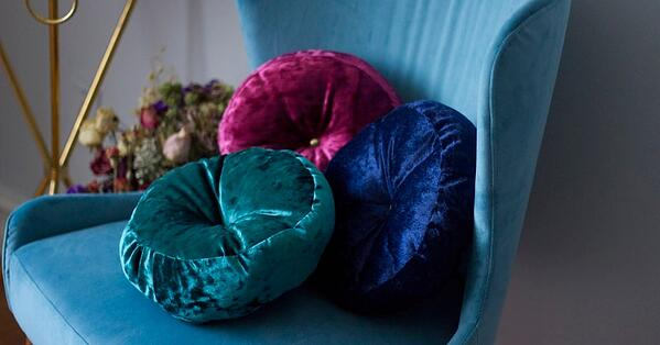 velvet cushions 2020 home trend